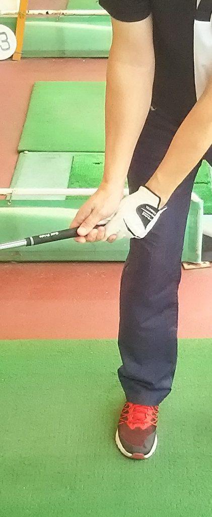 スイング コック ゴルフ